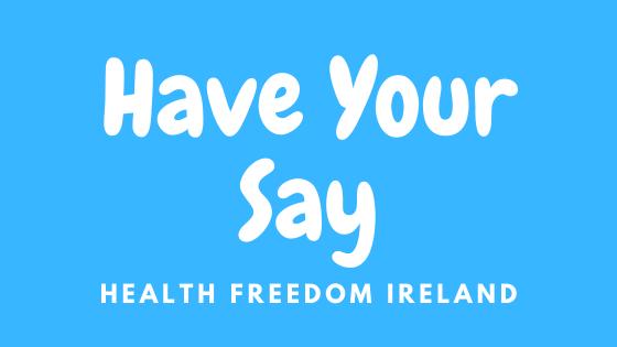 About Us - Health Freedom Ireland on Health Freedom Ireland